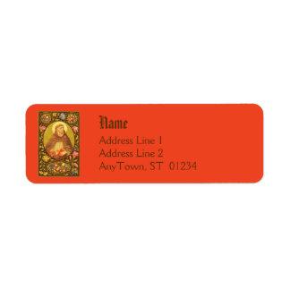 Etiqueta #1a del remite de St Dominic (P.M. 02) Etiquetas De Remite