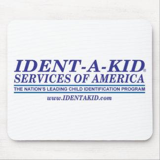 Etiqueta 2008 del logotipo w de IDK 1 Alfombrilla De Ratón