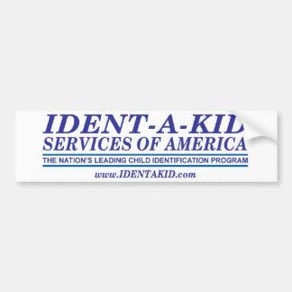 Etiqueta 2008 del logotipo w de IDK 1 Pegatina De Parachoque