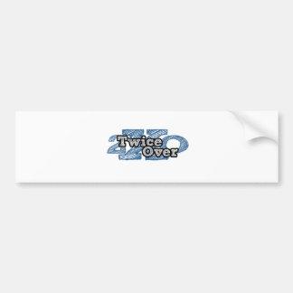 etiqueta 2xo_logo_large-no pegatina de parachoque