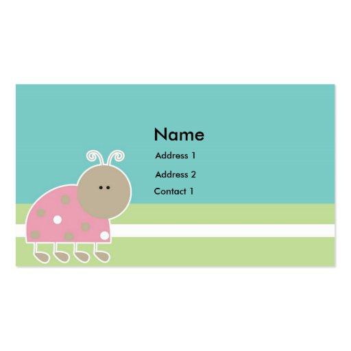 Etiqueta A2 del regalo de los niños Tarjeta De Negocio