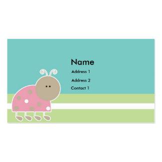 Etiqueta A2 del regalo de los niños Tarjetas De Visita