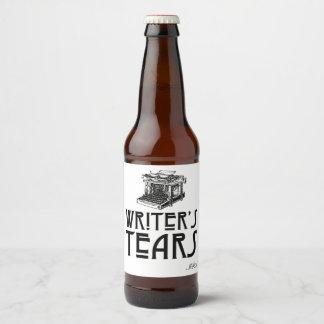 Etiqueta adaptable de la cerveza de los rasgones