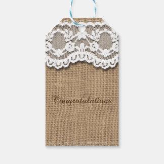 Etiqueta adaptable del regalo de la enhorabuena etiquetas para regalos