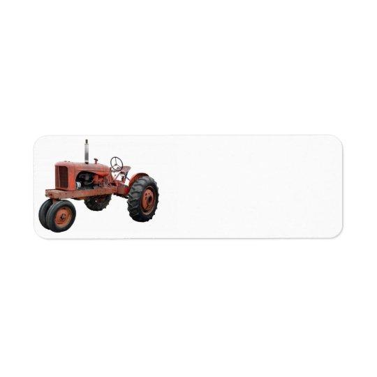 Etiqueta Ame esos tractores oxidados viejos