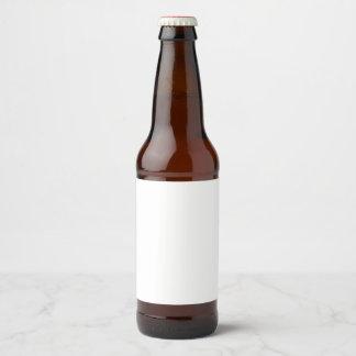 Etiqueta autoadhesiva de la botella de cerveza