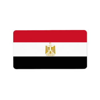 Etiqueta Bandera de Egipto - علممصر - bandera egipcia