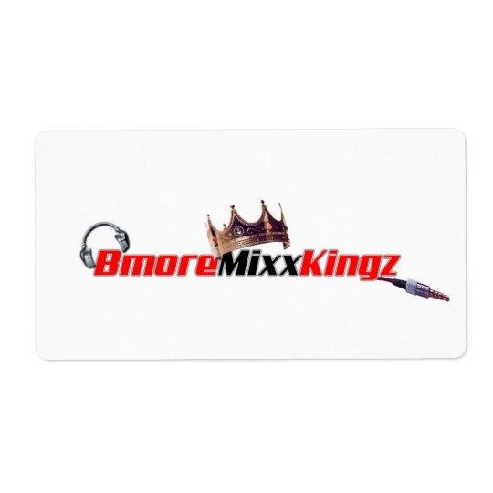 Etiqueta Bmore Mixx Kingz/Queenz