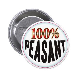 Etiqueta campesina pin