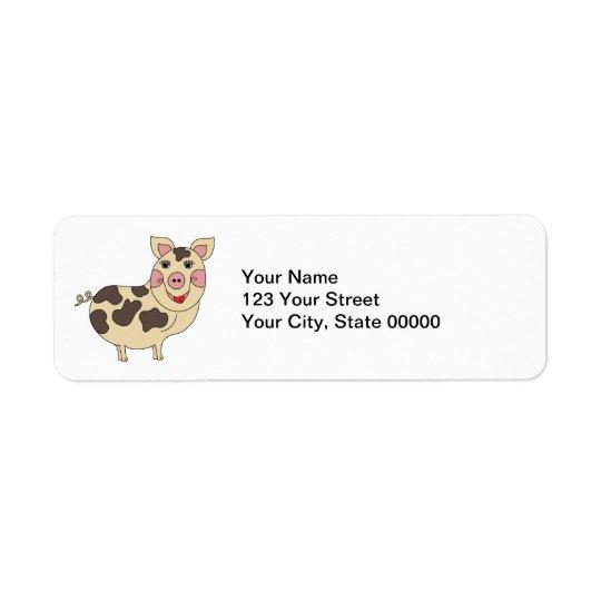 Etiqueta Cerdo caprichoso personalizado