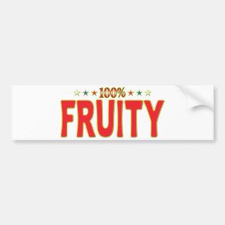 Etiqueta con sabor a fruta de la estrella