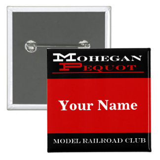 Etiqueta conocida de Mohegan Pequot Pins