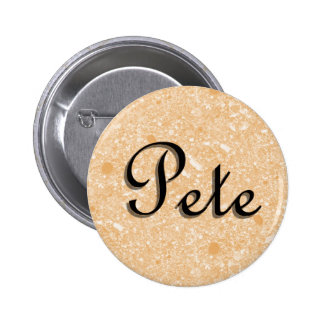 Etiqueta conocida de Pete Pins