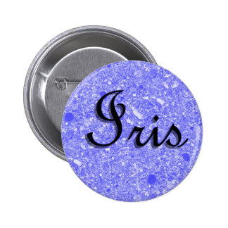 Etiqueta conocida del iris chapa redonda 5 cm
