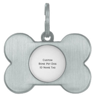 Etiqueta conocida personalizada personalizado de placa de mascota
