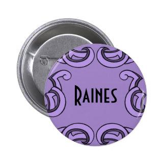 Etiqueta conocida púrpura de Deco Pin