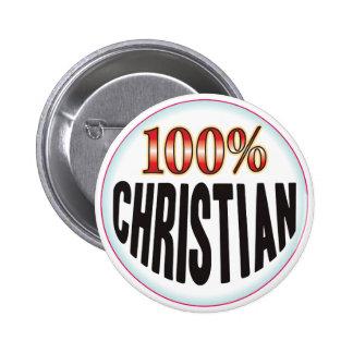 Etiqueta cristiana pin