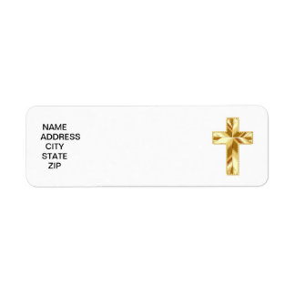 Etiqueta Cruz del oro