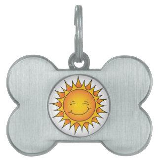 Etiqueta D-O-Doble de G Placa De Nombre De Mascota