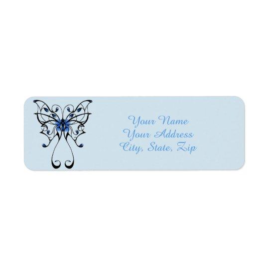 Etiqueta Danza 2 de la mariposa