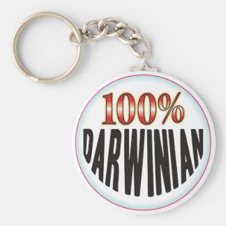 Etiqueta darvinista llavero