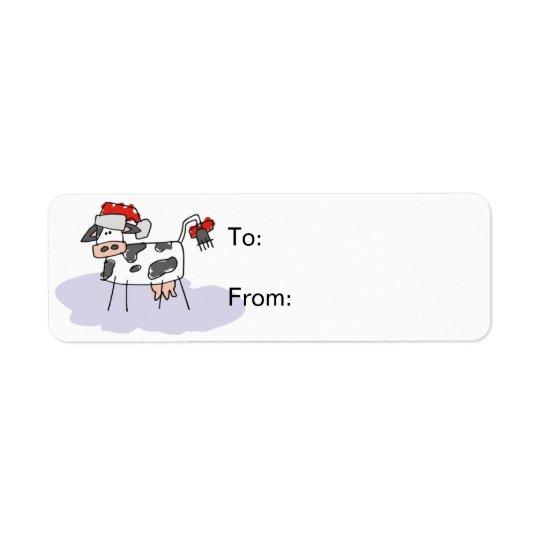 Etiqueta de Avery de la etiqueta del regalo de la Etiqueta De Remitente