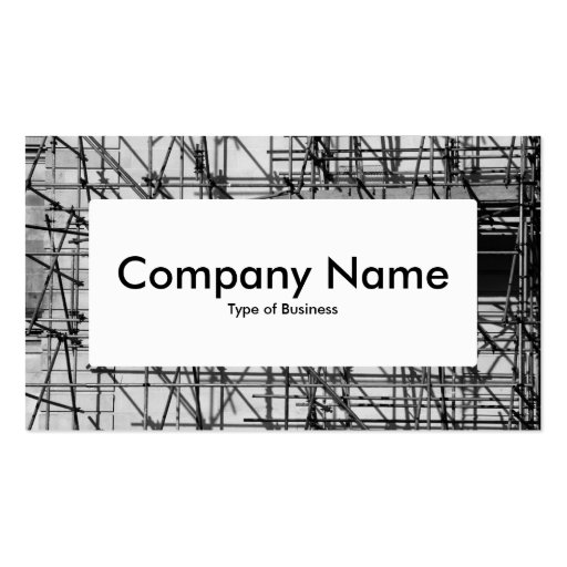 Etiqueta de centro v4 - andamio plantillas de tarjetas personales