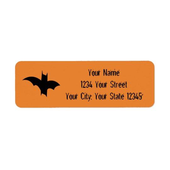 Etiqueta de dirección del palo