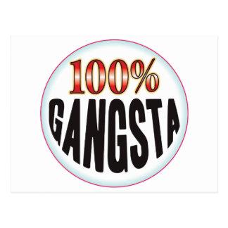 Etiqueta de Gangsta Postal
