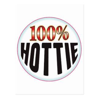 Etiqueta de Hottie Postal