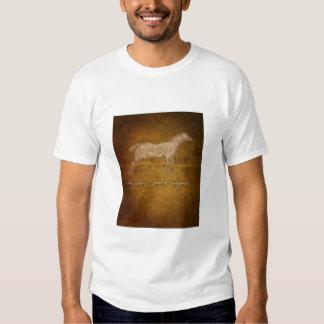 Etiqueta de Huevos Caballos Camiseta