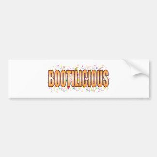Etiqueta de la burbuja de Bootilicious Pegatina Para Coche
