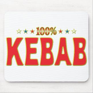 Etiqueta de la estrella de Kebab Alfombrilla De Ratón