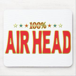 Etiqueta de la estrella de la cabeza del aire
