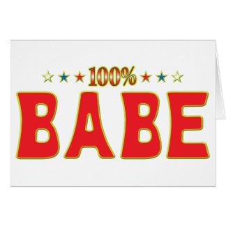Etiqueta de la estrella del bebé tarjeta