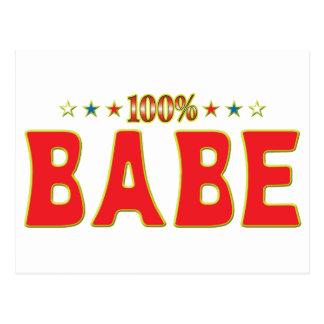 Etiqueta de la estrella del bebé postales