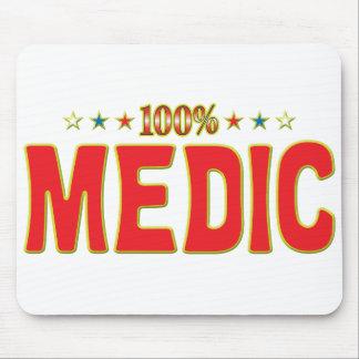 Etiqueta de la estrella del médico tapete de raton