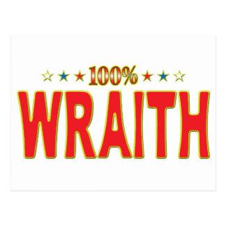 Etiqueta de la estrella del Wraith Tarjeta Postal