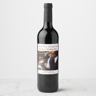 Etiqueta de la huésped del amante del vino del día