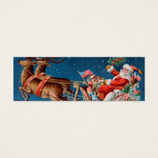 Etiqueta de la nota o del regalo del AMOR de Santa