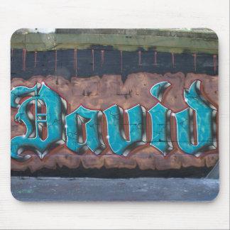 Etiqueta de la pintada: David Alfombrilla De Ratón