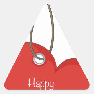 Etiqueta de la tarjeta del día de San Valentín