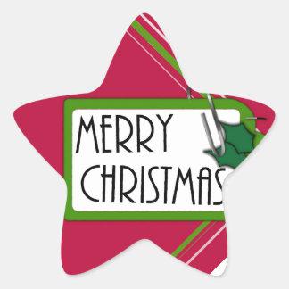 Etiqueta de las Felices Navidad
