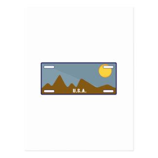 Etiqueta de los E.E.U.U. Postal