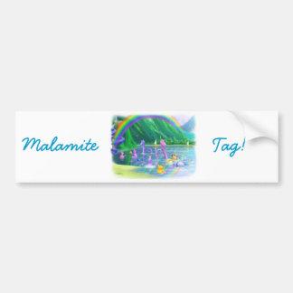 ¡Etiqueta de Malamite! Pegatina Para Coche