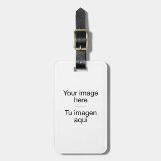 Etiqueta de maletas de diseño personalizado