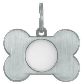 Etiqueta De Mascota Personalizable Placa Para Mascotas