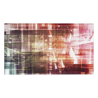 Etiqueta De Nombre Imágenes de Digitaces con arte de la transferencia