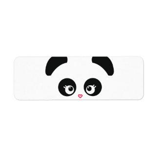 Etiqueta de Panda® Avery del amor Etiqueta De Remite