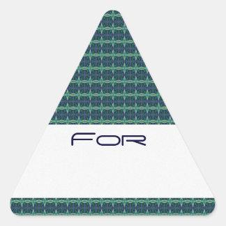 Etiqueta de púas del regalo del modelo del